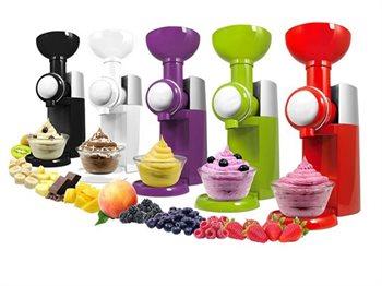 מכשיר להכנת פרוזן יוגורט, גלידה וקינוחי סורבה- במגוון צבעים
