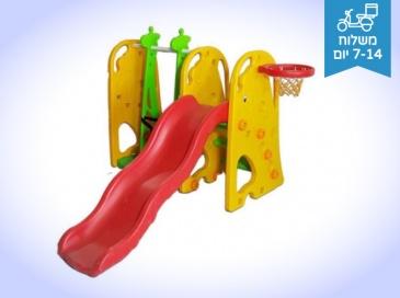 אדומית מתקן לילדים מתקן שעשועים ומשחקים לבית ולגינה