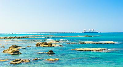 חוף הקשתות בקיסריה - מסלול טיול מומלץ במרכז