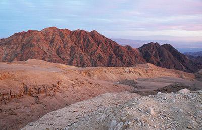 הר יואש ונחל יואש - מסלול טיול באזור אילת