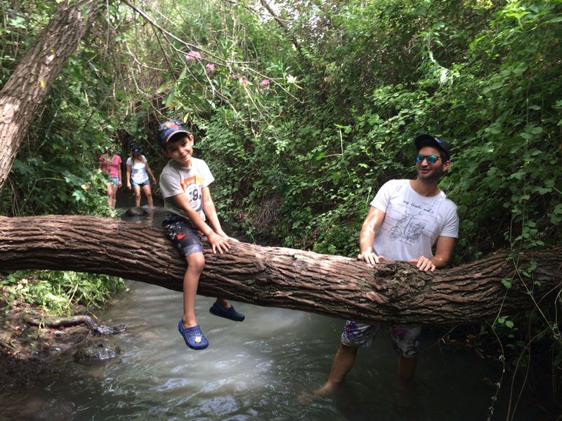המג'רסה - טיול רטוב מקסים אל ארץ פלגי המים