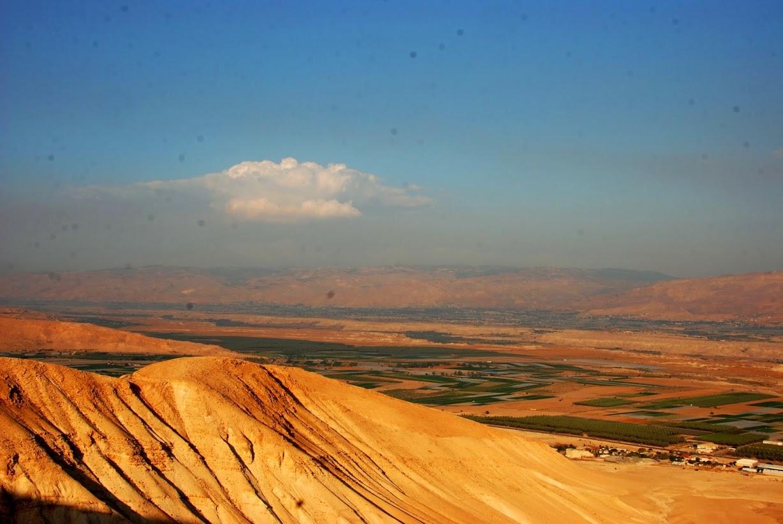 סרטבה - מסלול טיול בבקעת הירדן עם תצפית מדהימה