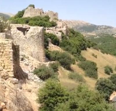 מבצר נמרוד - קלעת נמרוד | טיול למצודה עתיקה